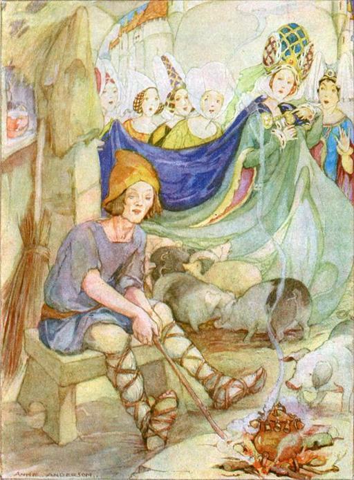 La princesse et le porcher