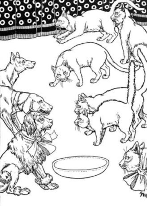 La Querelle des Chiens et des Chats, et celle des Chats et des Souris