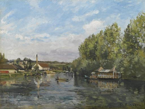 La Seine à Port-Marly