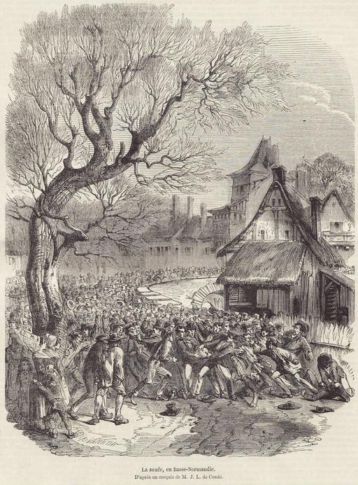 La soule en Basse Normandie en 1852