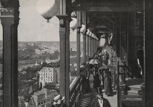 La Tour Eiffel en 1889