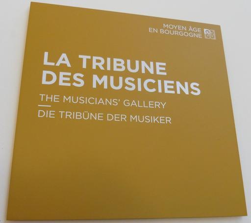 La tribune des musiciens au musée des beaux-arts de Dijon