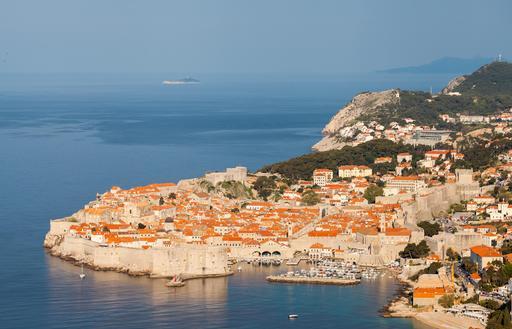 La vieille ville de Dubrovnik en Croatie