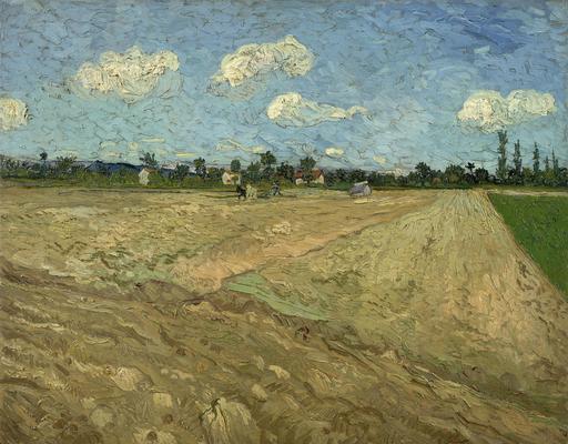 Labours dans les champs