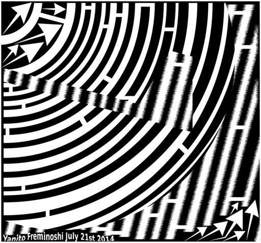 Labyrinthe en op art