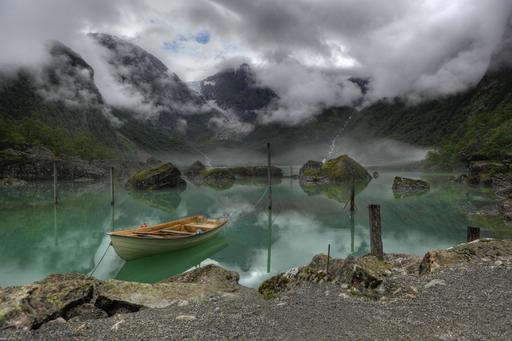 Lac Bondhus en Norvège