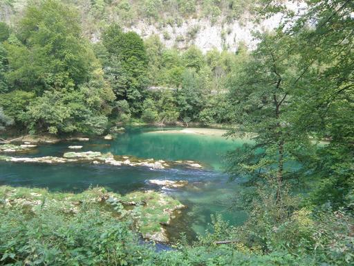 Lac du parc national de Plitvice en Croatie