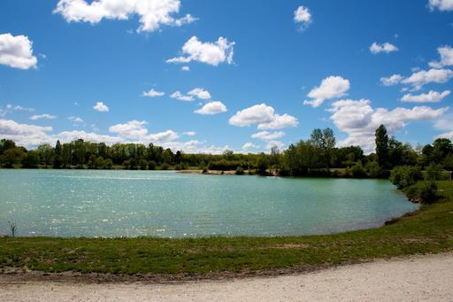Lac Vert Canéjan en Gironde