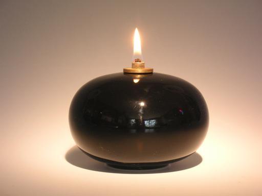 Lampe à huile contemporaine suédoise