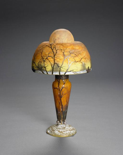 Lampe Daum de style Art Nouveau