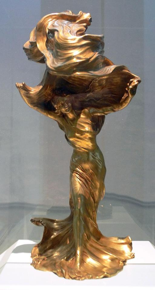 Lampe Loïe Fuller de 1901