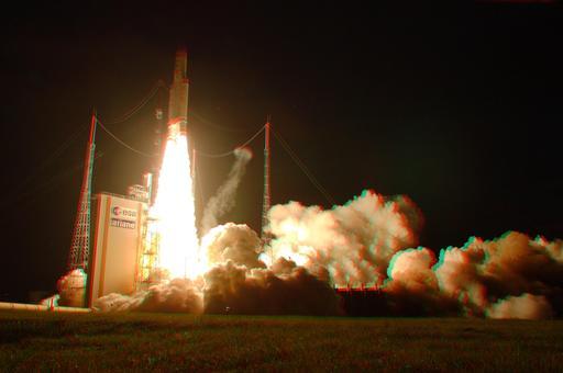 Lancement d'Ariane 5