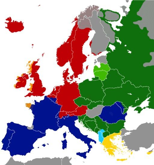 Langues indo-européennes en Europe