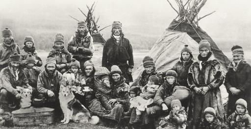 Lapons nomades au début du XXème siècle