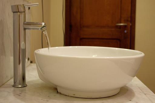 Lavabo en forme de vasque