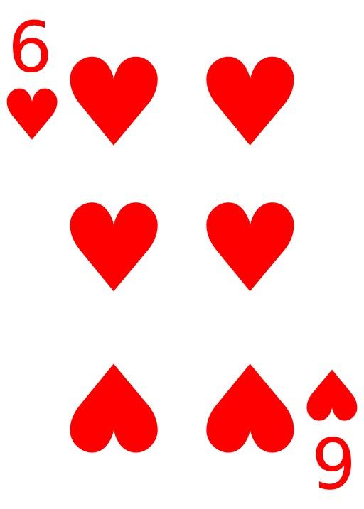 Le 6 de coeur