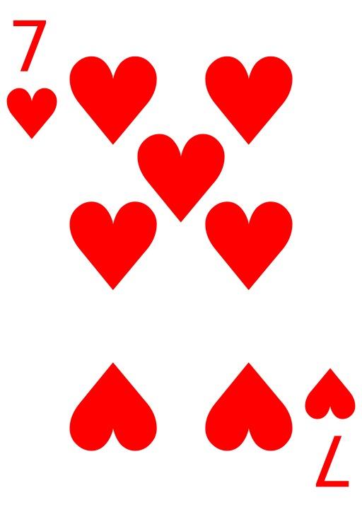 Le 7 de coeur