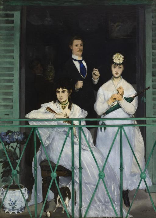 Le balcon de Manet