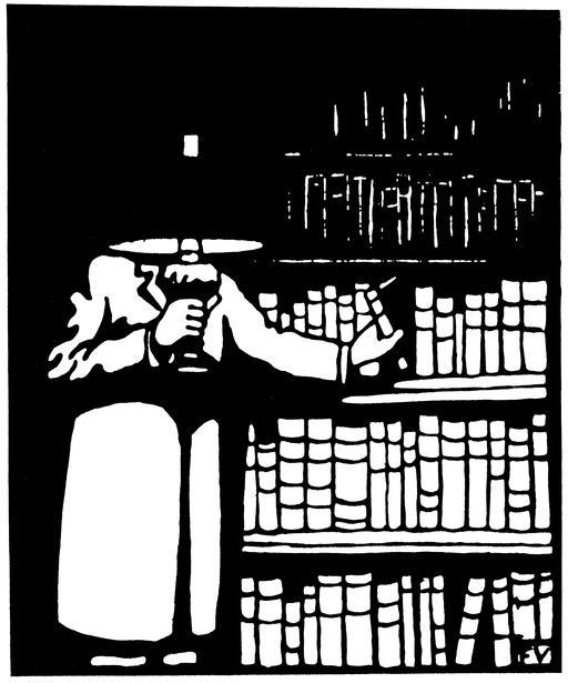 Le bibliophile en 1911