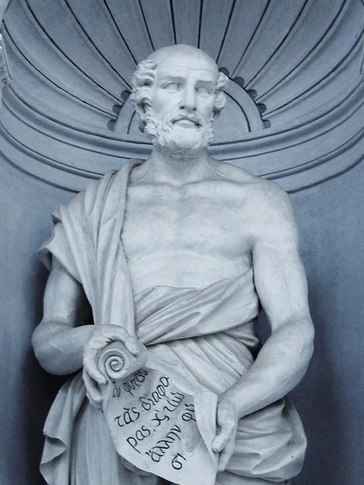 Le botaniste grec Théophraste