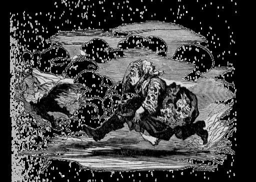 Le briquet d'Andersen : la sorcière