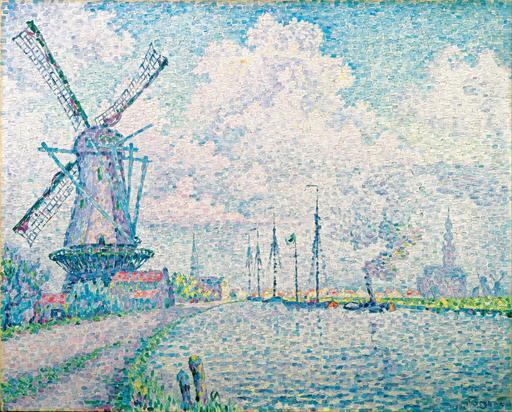 Le canal d'Overschie à Rotterdam