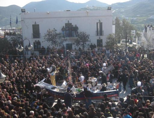 Le carnaval de Skyros en Grèce