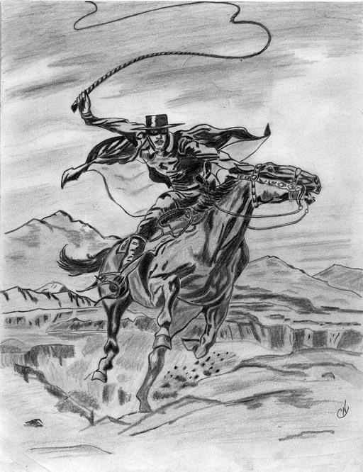 Le cavalier Zorro