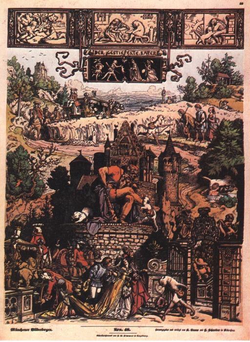 Le chat botté de 1849
