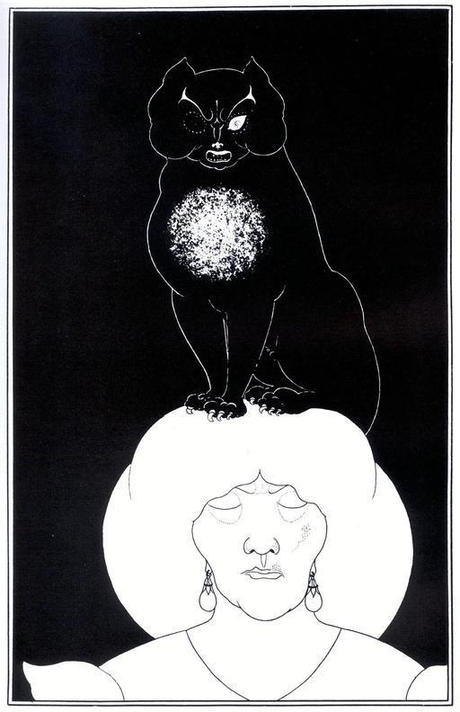 Le chat noir d'Edgar Poe