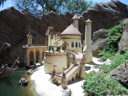 Le château de la Petite Sirène