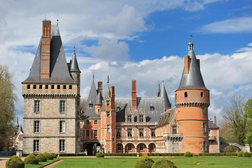 Le Château de Maintenon, en Eure-et-Loir (France)