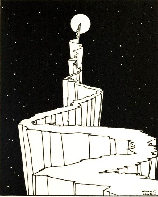 Le chemin vers la lune