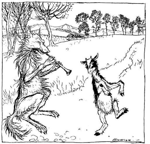 Le chevreau et le loup