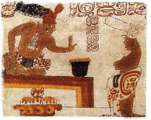 Le chocolat chez les mayas