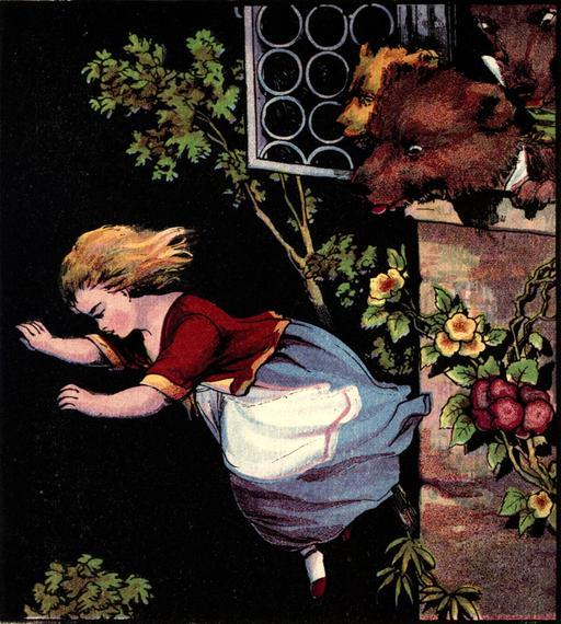 Le conte anglais des trois ours en 1888, page 16