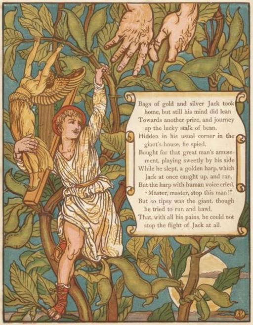 Le conte de Jacques et le haricot magique