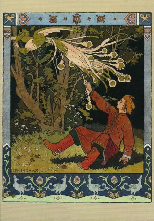 Le conte de l'oiseau de feu