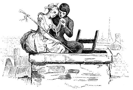 Le conte de la bergère et du ramoneur