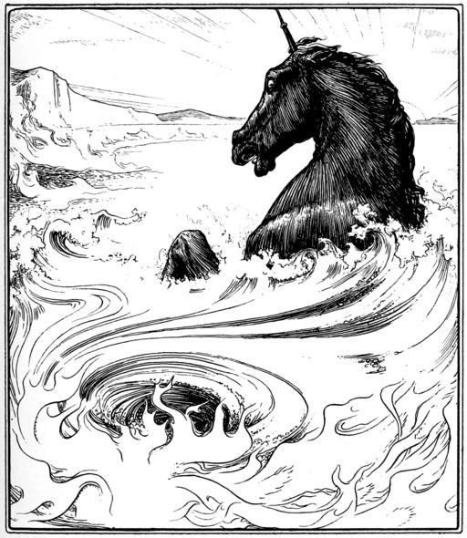 Le conte du cheval noir