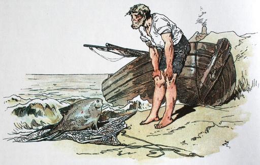 Le conte du pêcheur et de sa femme