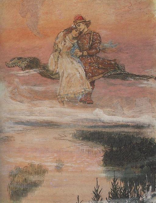 Le conte du tapis volant