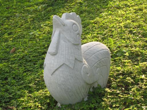 Le coq du zodiaque chinois