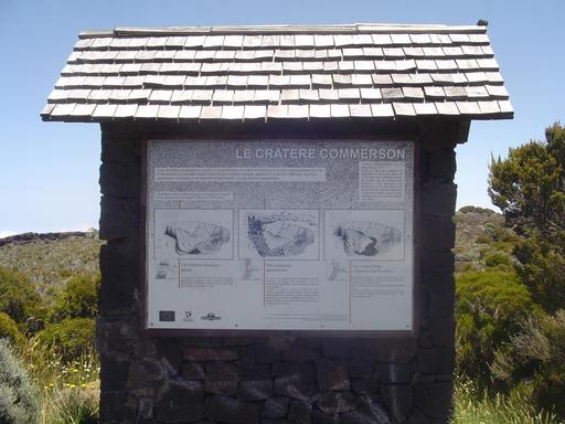 Le cratère Commerson à La Réunion