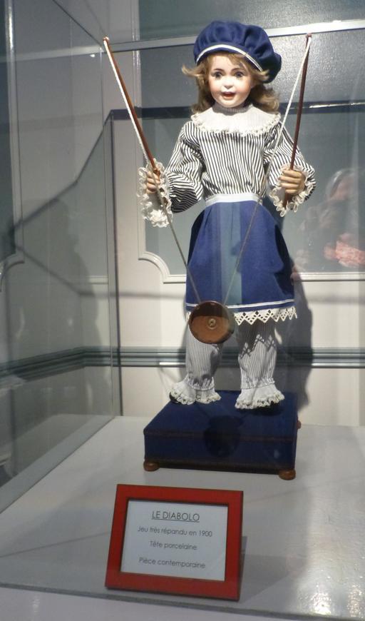 Le diabolo au musée des automates