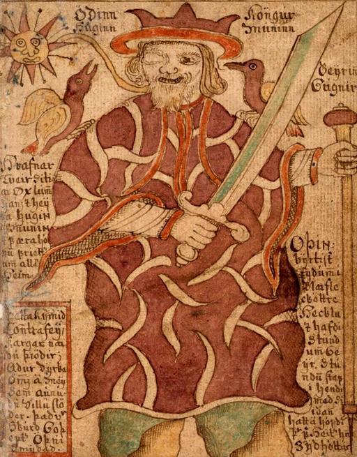 Le dieu Odin