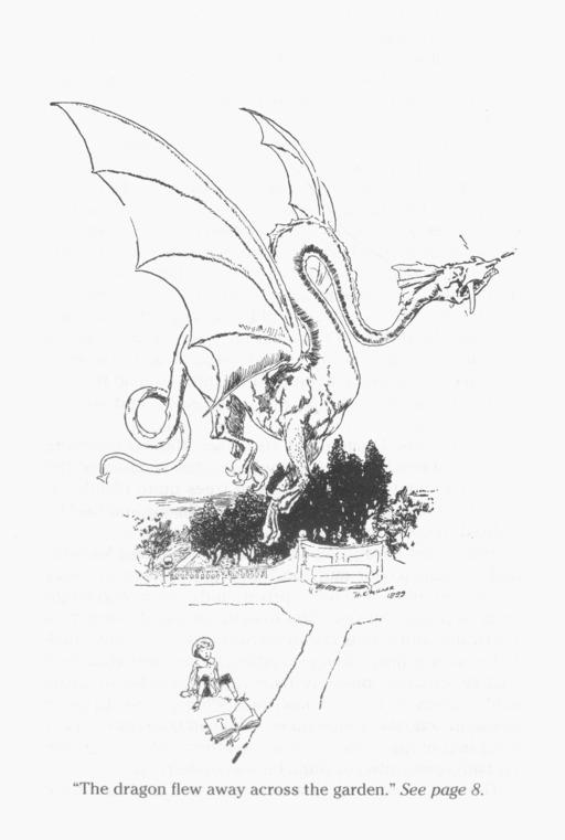 Le dragon s'échappe du livre