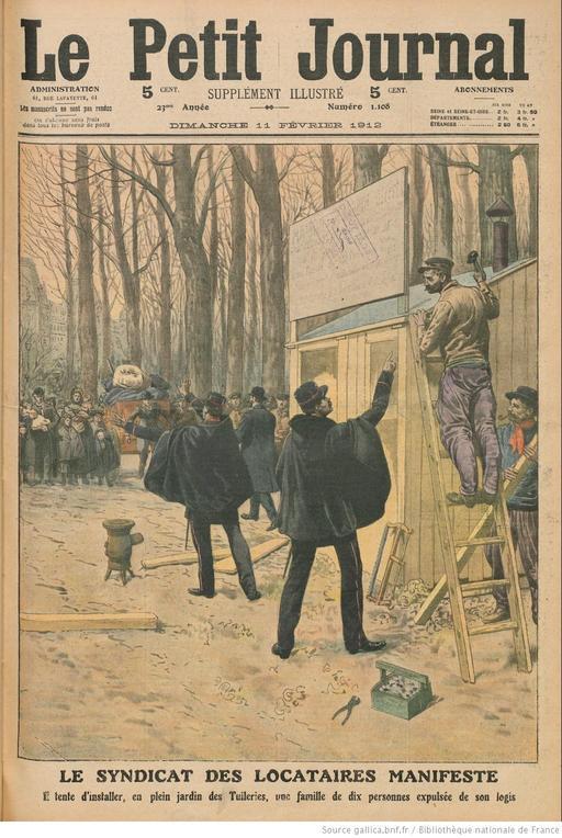 Le droit au logement en 1912