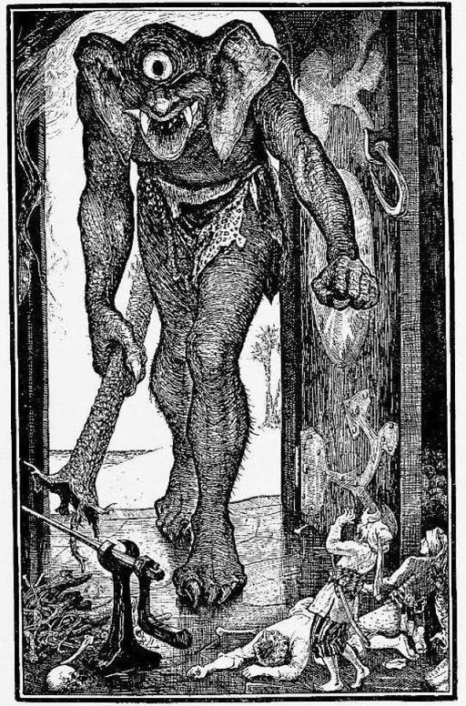 Le géant de Sinbad le marin