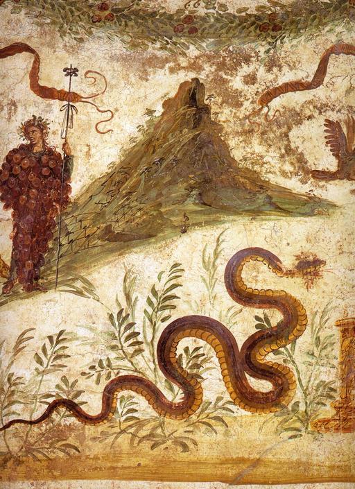 Le génie du sol à Pompéi